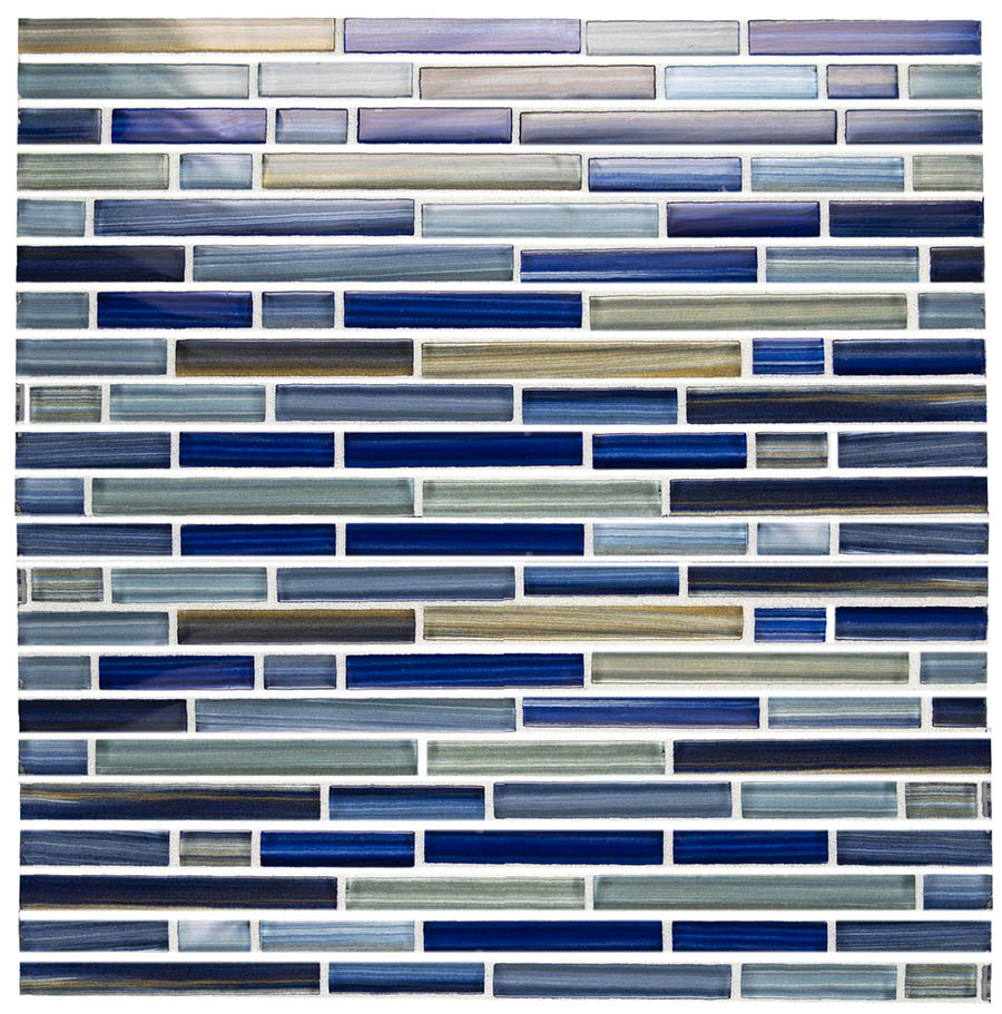 Brush Blue Linear